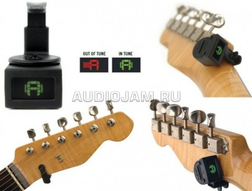 Тюнер Planet Waves PW-CT-12 NS Mini Headstock на прищепке  фото 2