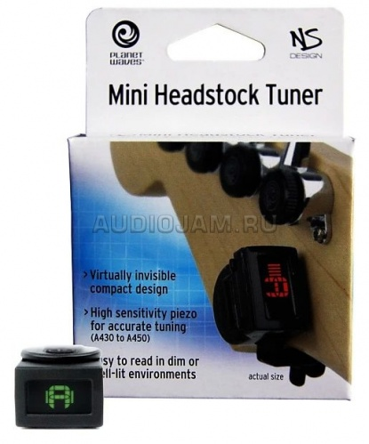 Тюнер Planet Waves PW-CT-12 NS Mini Headstock на прищепке  фото 3