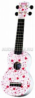 Укулеле MAHALO U-40HT Art Series Graphic Ukulele Outfit - Hearts