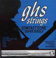 Струны для бас гитары GHS L5200 Light Gauge Contact Core Super Steels